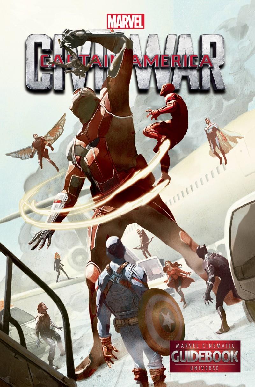 Marvel Guidebook Cinematic Universe Captain America 3