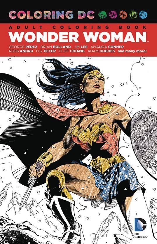 DC Coloring Book Wonder Woman