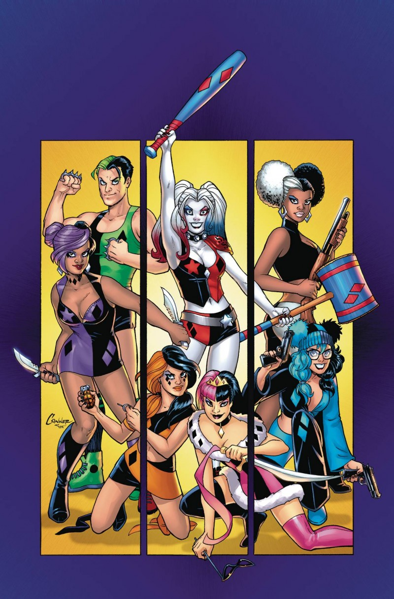 Harley Quinn TP Harley Quinn and her Gang of Harleys
