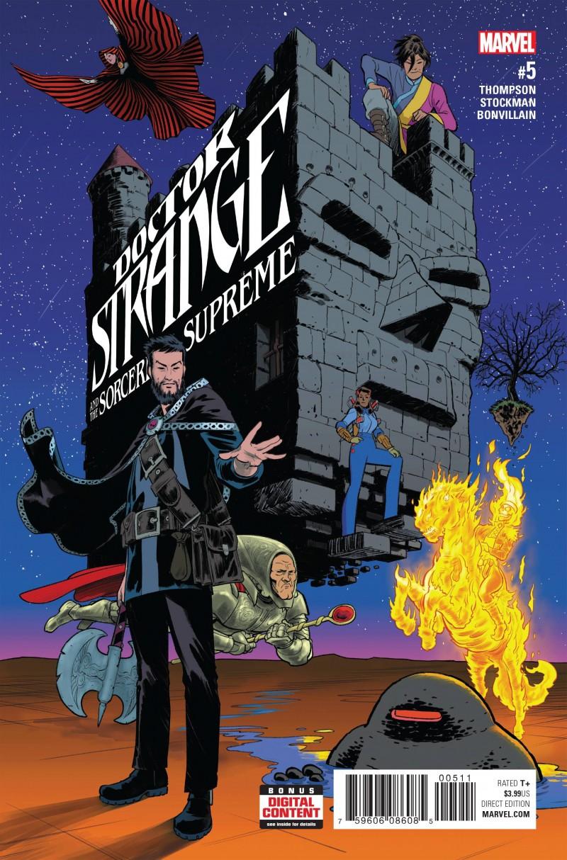 Dr Strange SS V2 #5 (Sorcerers Supreme)