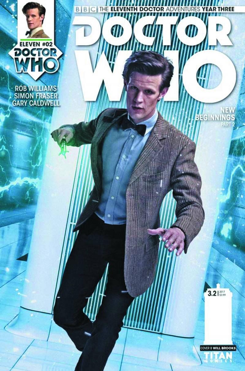 Dr Who 11th Year Three #2 CVR B
