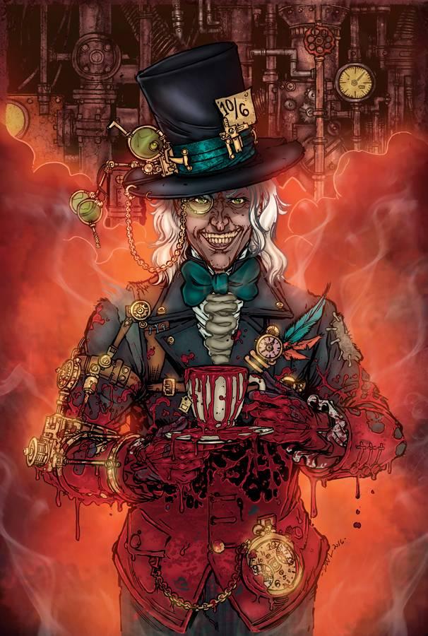 GFT Steampunk Alice in Wonderland CVR B Leister