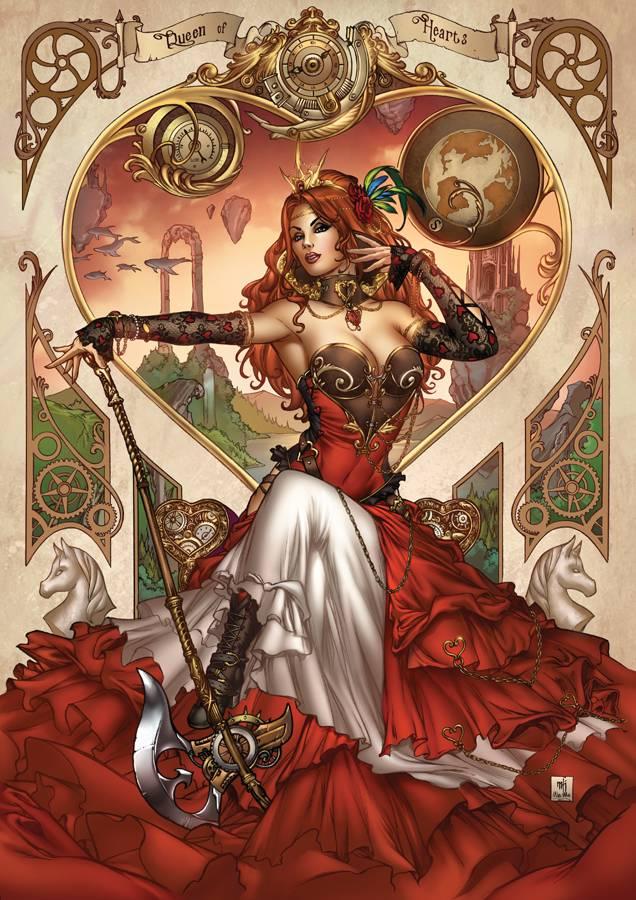 GFT Steampunk Alice in Wonderland CVR C Krome