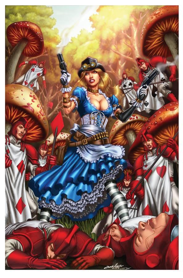 GFT Steampunk Alice in Wonderland CVR D Luis