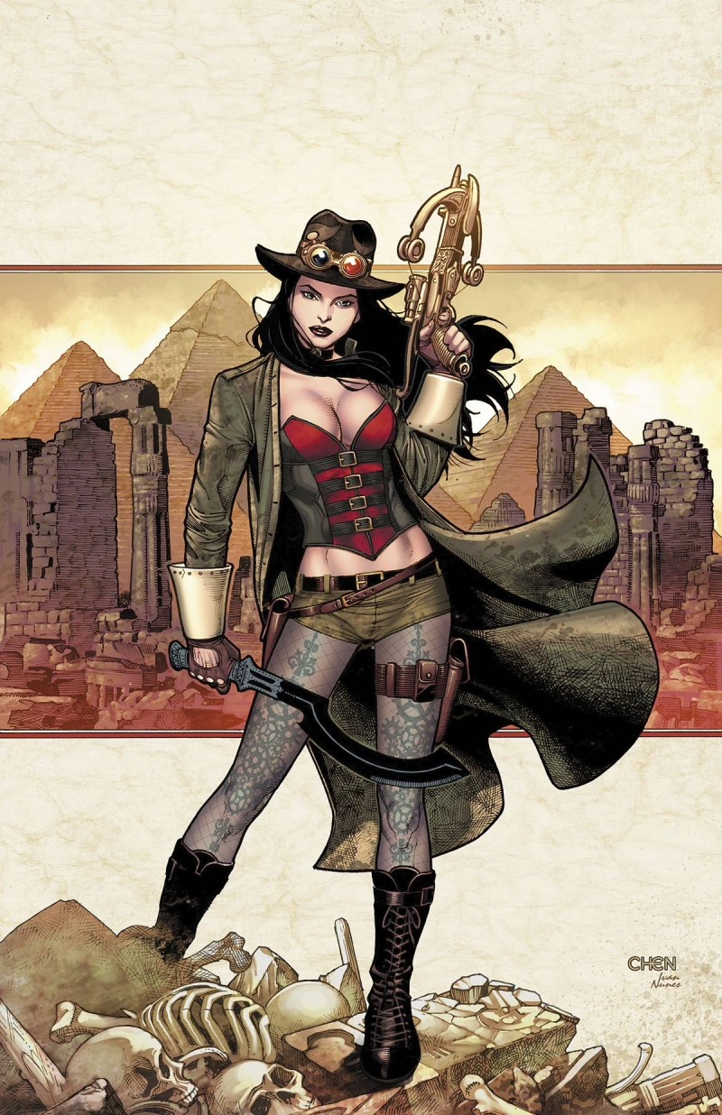 GFT Van Helsing Vs the Mummy of Amun Ra #1 CVR A Chen