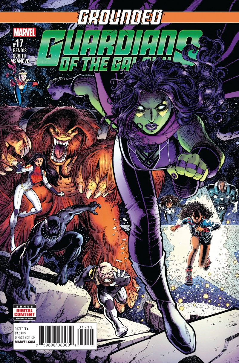 Guardians of the Galaxy V4 #17
