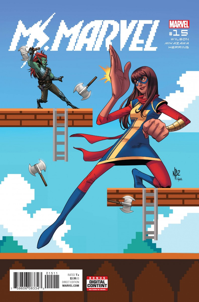 Ms Marvel V4 #15