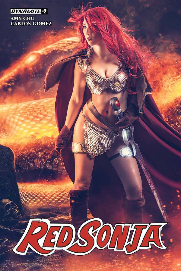 Red Sonja  #2 CVR C Cosplay