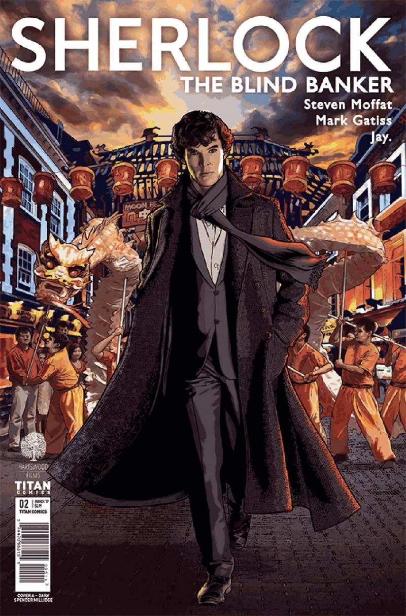Sherlock Blind Banker #2 CVR A