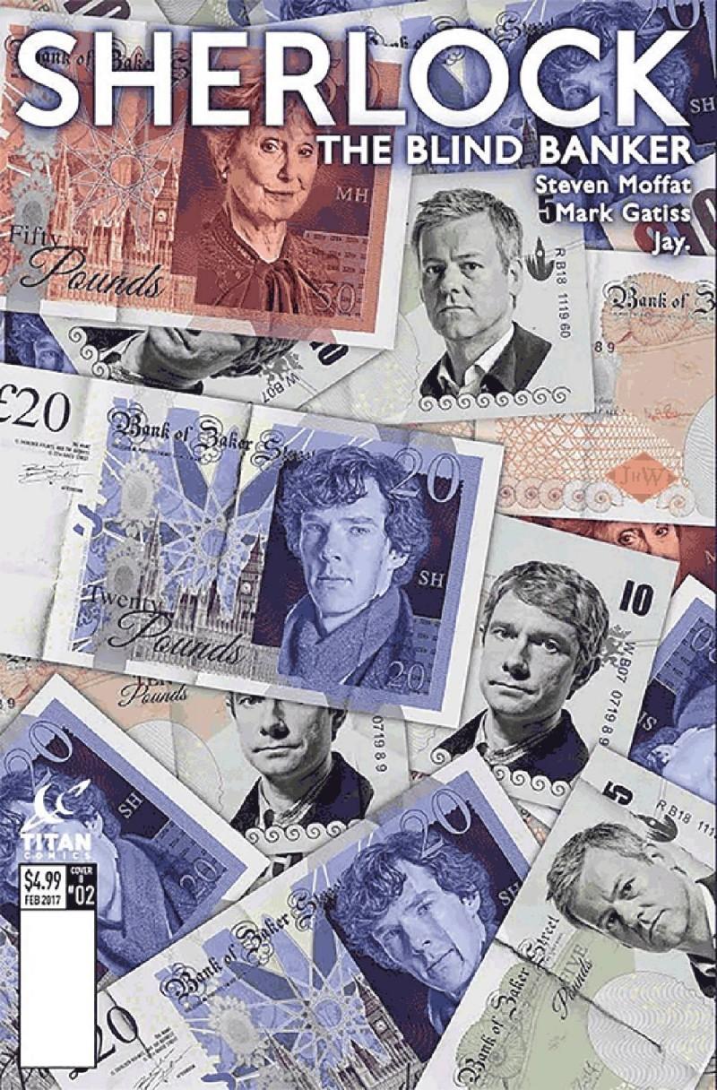 Sherlock Blind Banker #2 CVR B