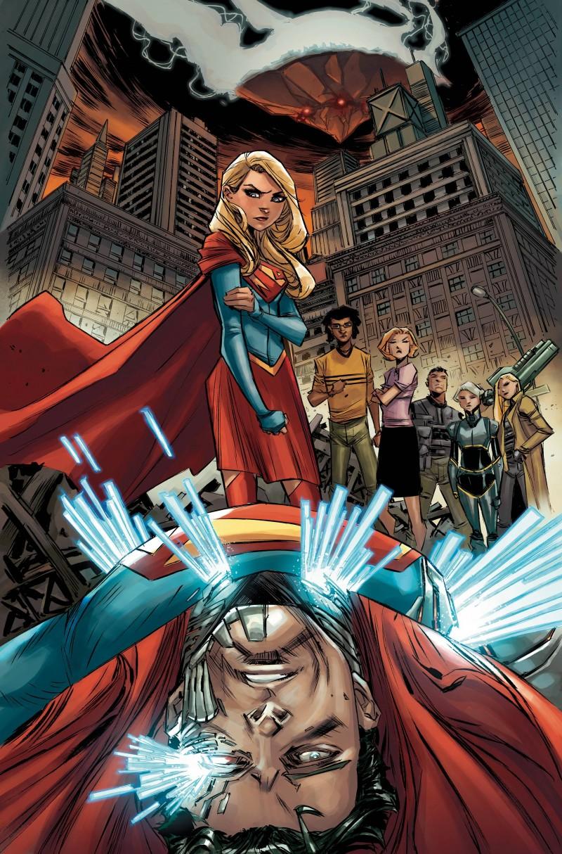 Supergirl V7 #6 CVR A