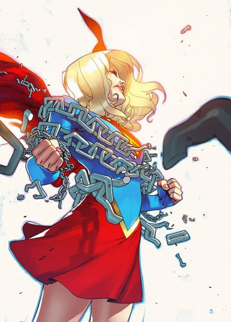 Supergirl V7 #6 CVR B