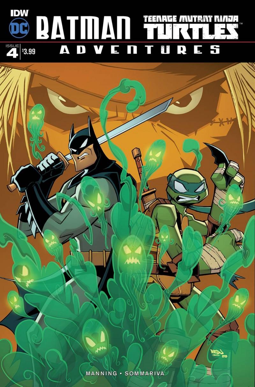 Batman TMNT Adventures #4 CVR A
