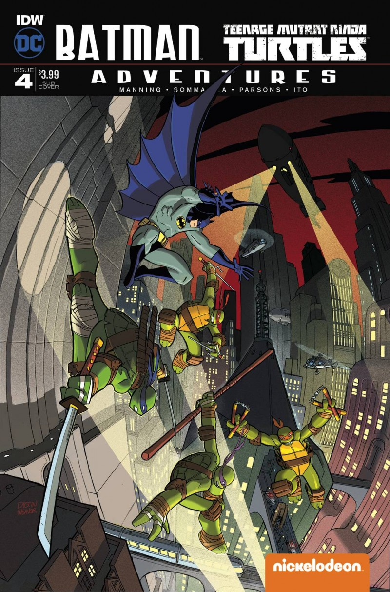 Batman TMNT Adventures #4 CVR B