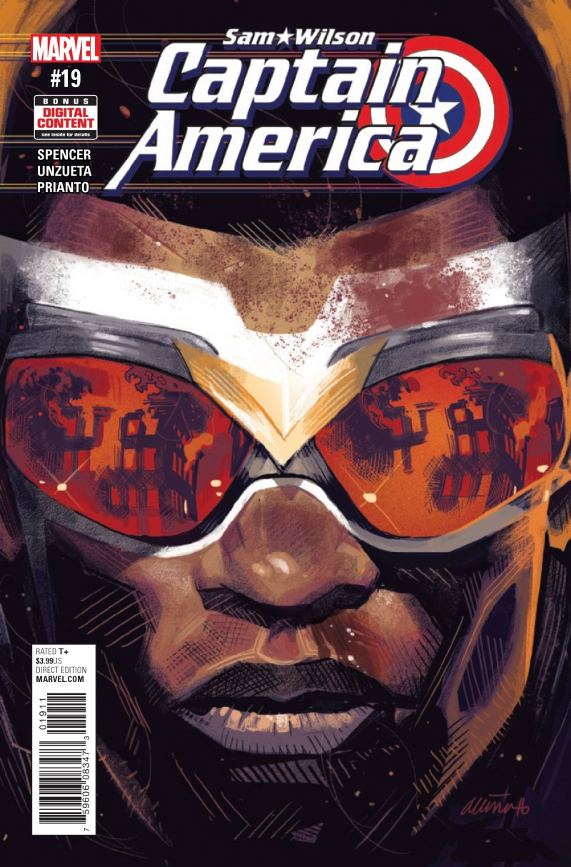 Captain America Sam Wilson #19