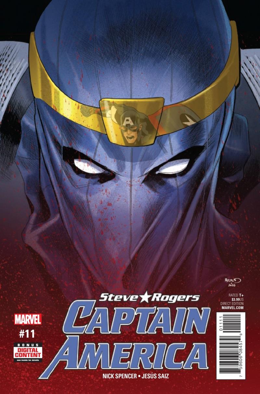 Captain America Steve Rogers #11