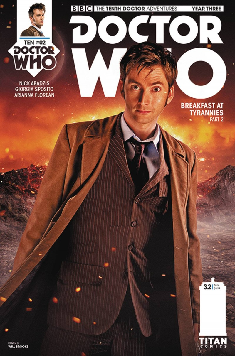 Dr Who 10th Year Three #2 CVR B