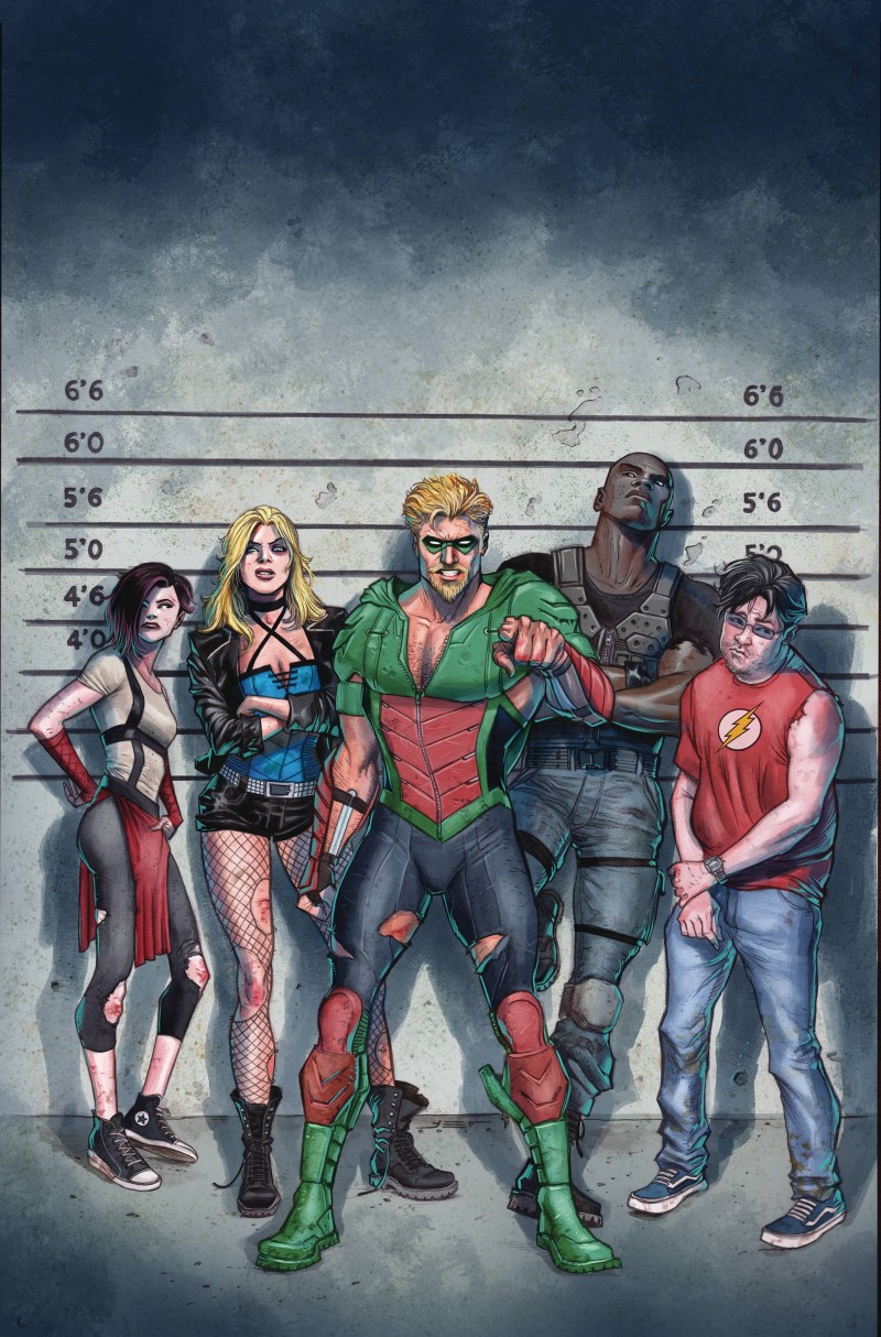 Green Arrow V7 #17 CVR A