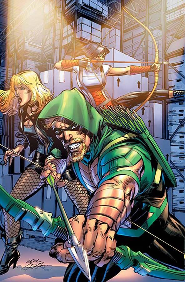 Green Arrow V7 #17 CVR B