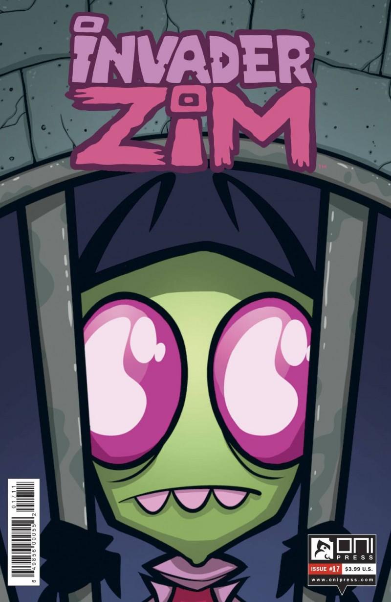 Invader Zim #17 CVR A