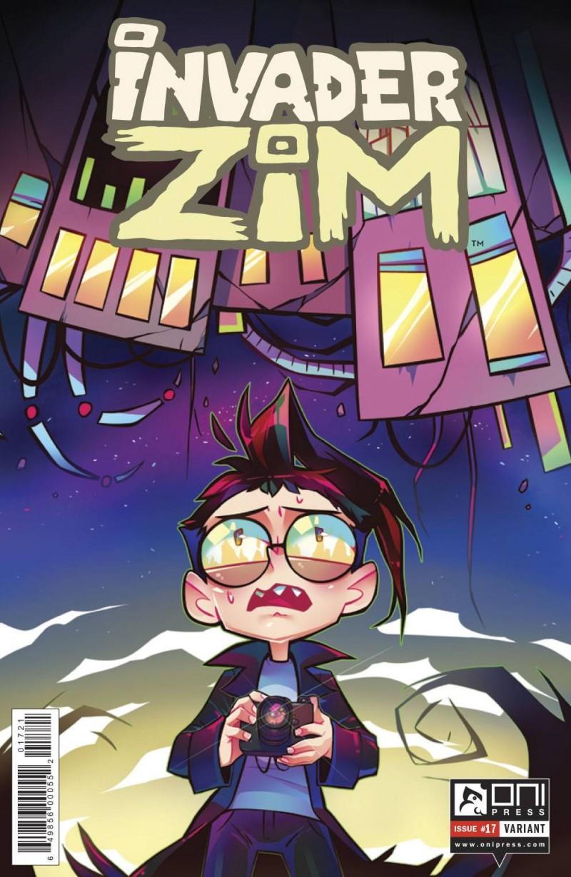 Invader Zim #17 CVR B