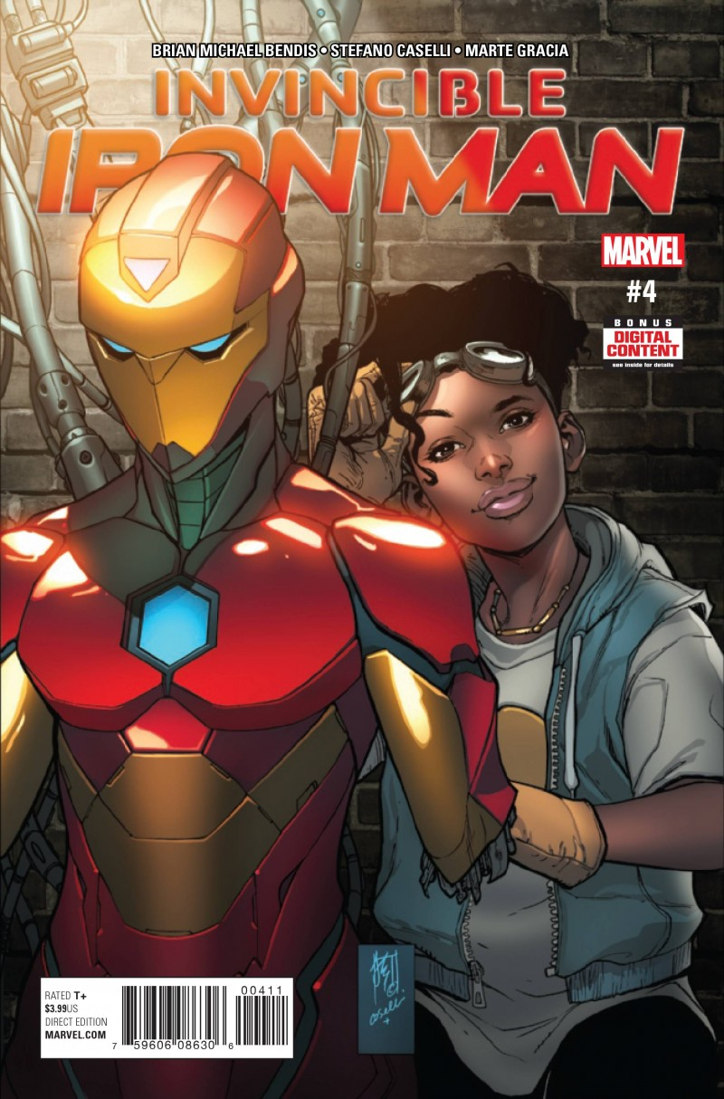 Invincible Iron Man V3 #4