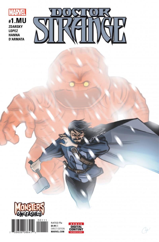 Monsters Unleashed One-Shot Doctor Strange