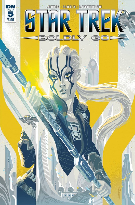 Star Trek Boldy Go #5 CVR A