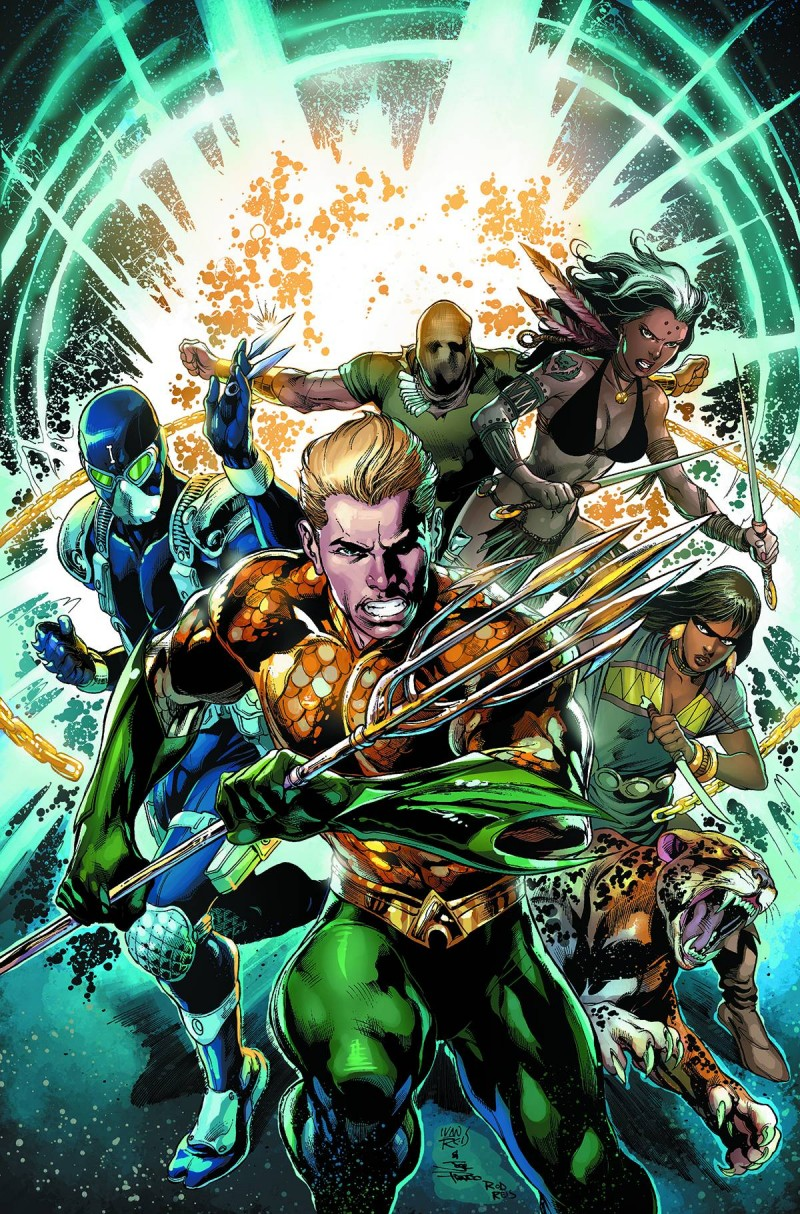 Aquaman and the Others TP V1 Legacy of Gold