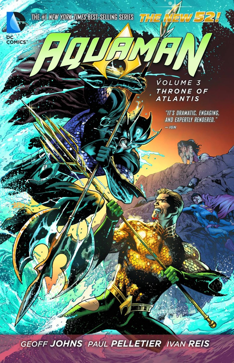 Aquaman TP New 52 V3 Throne of Atlantis