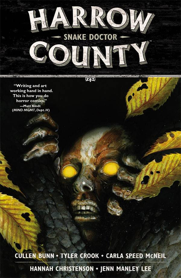 Harrow County TP V3 Snake Doctor
