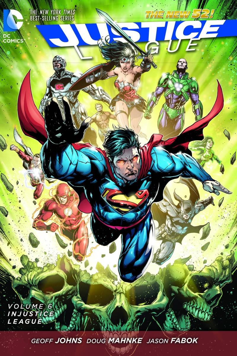 Justice League TP New 52 V6 injustice League