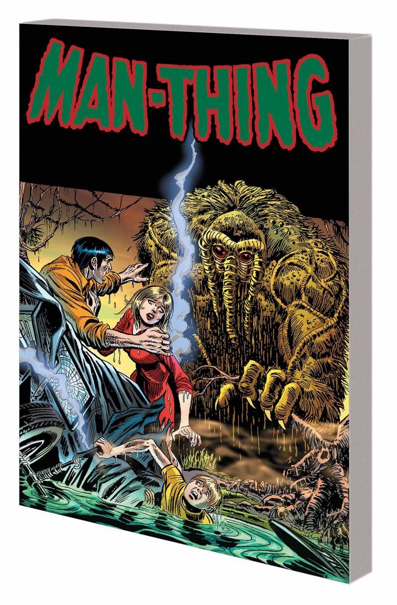 Man Thing TP Steve Gerber Complete Collection V1