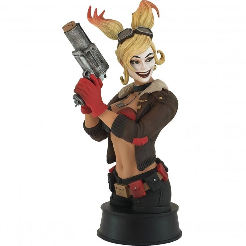 DC Bombshells Statue Harley Quinn Bust PX Edition
