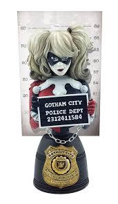 DC Mugshot Bust Harley Quinn