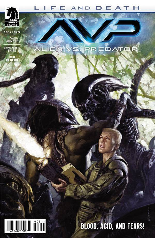 Aliens Vs Predator Life and Death #3