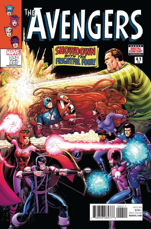 Avengers V6 #4.1