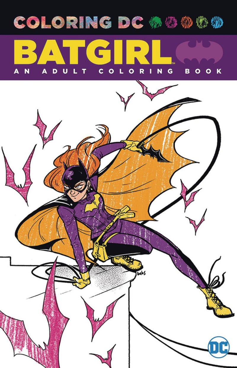 DC Coloring Book Batgirl