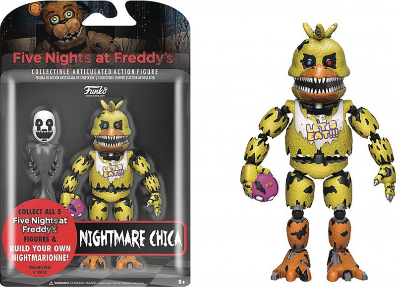 Five Nights at Freddys AF Nightmare Chica