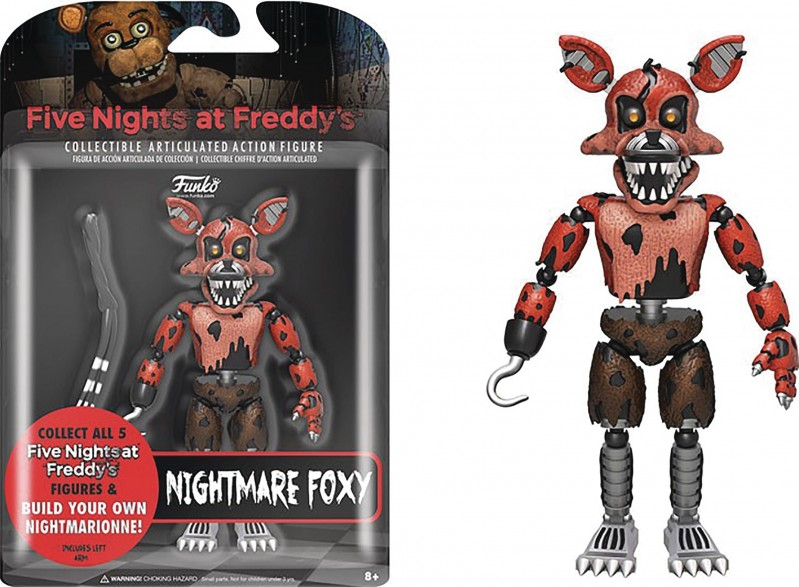 Five Nights at Freddys AF Nightmare Foxy