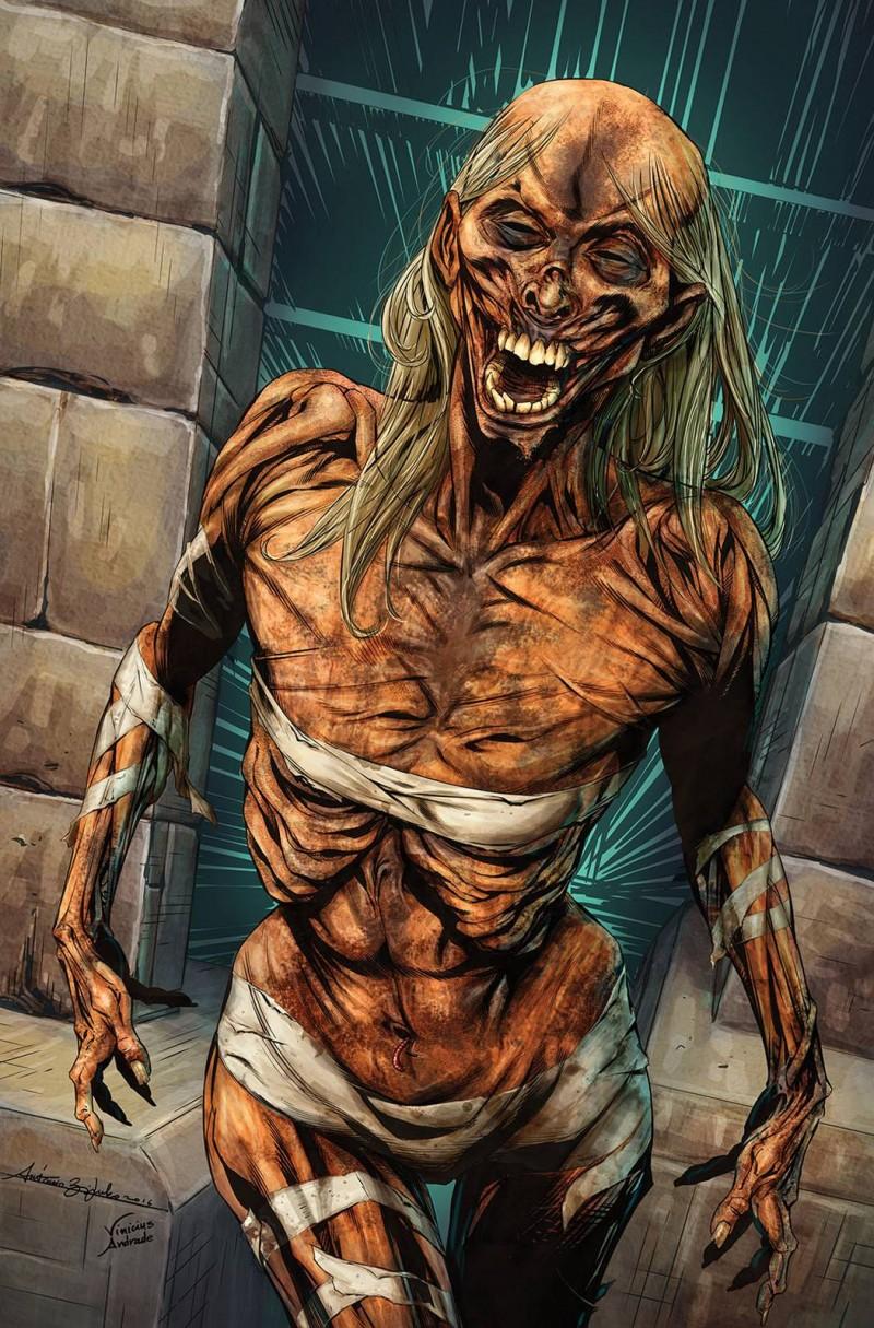 GFT Vaan Helsing Vs the Mummy of Amun Ra #2 CVR D