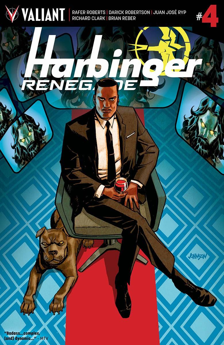 Harbinger Renegade #4 CVR B Johnson
