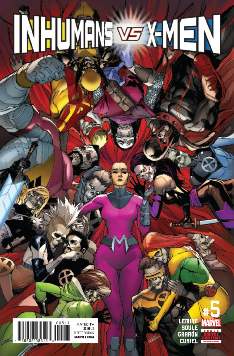 Inhumans Vs X-Men #5