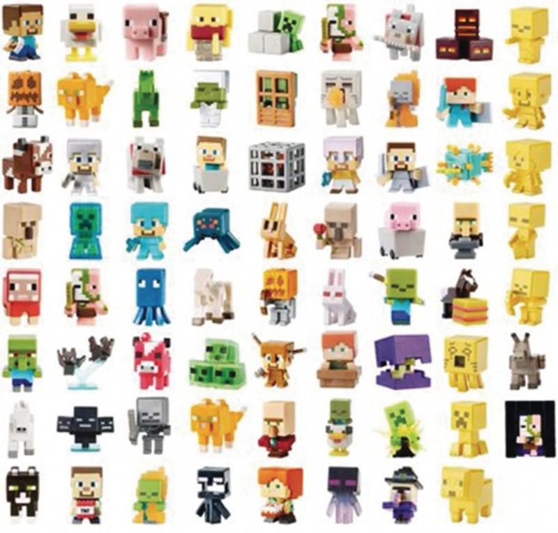 Minecraft Mini Figure Mystery Box