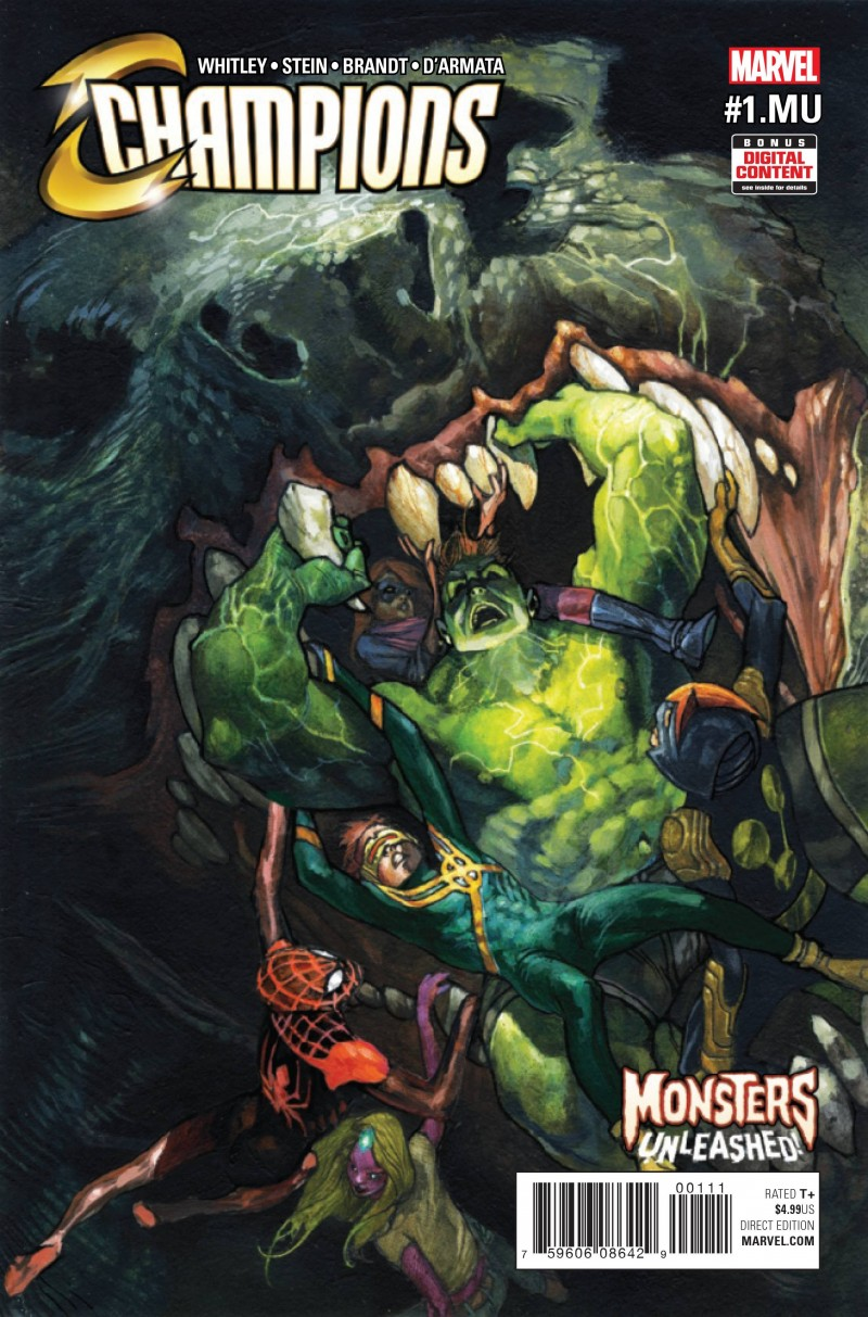 Monsters Unleashed One-Shot Champions