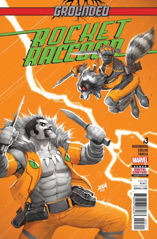 Rocket Raccoon V3 #3