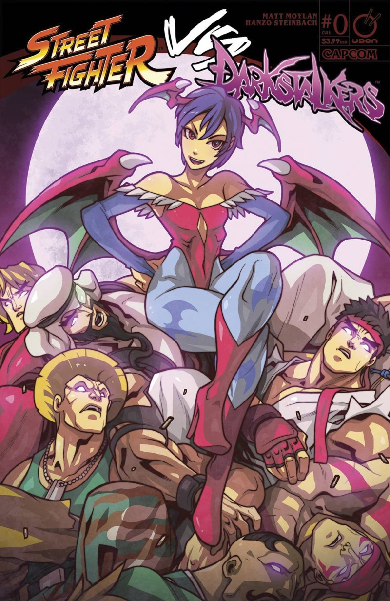 Street Fighter Vs Darkstalkers #0 CVR A Huang