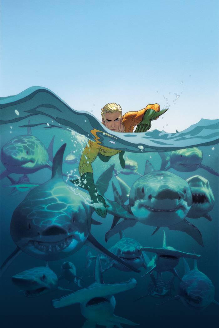 Aquaman V6 #18 CVR B