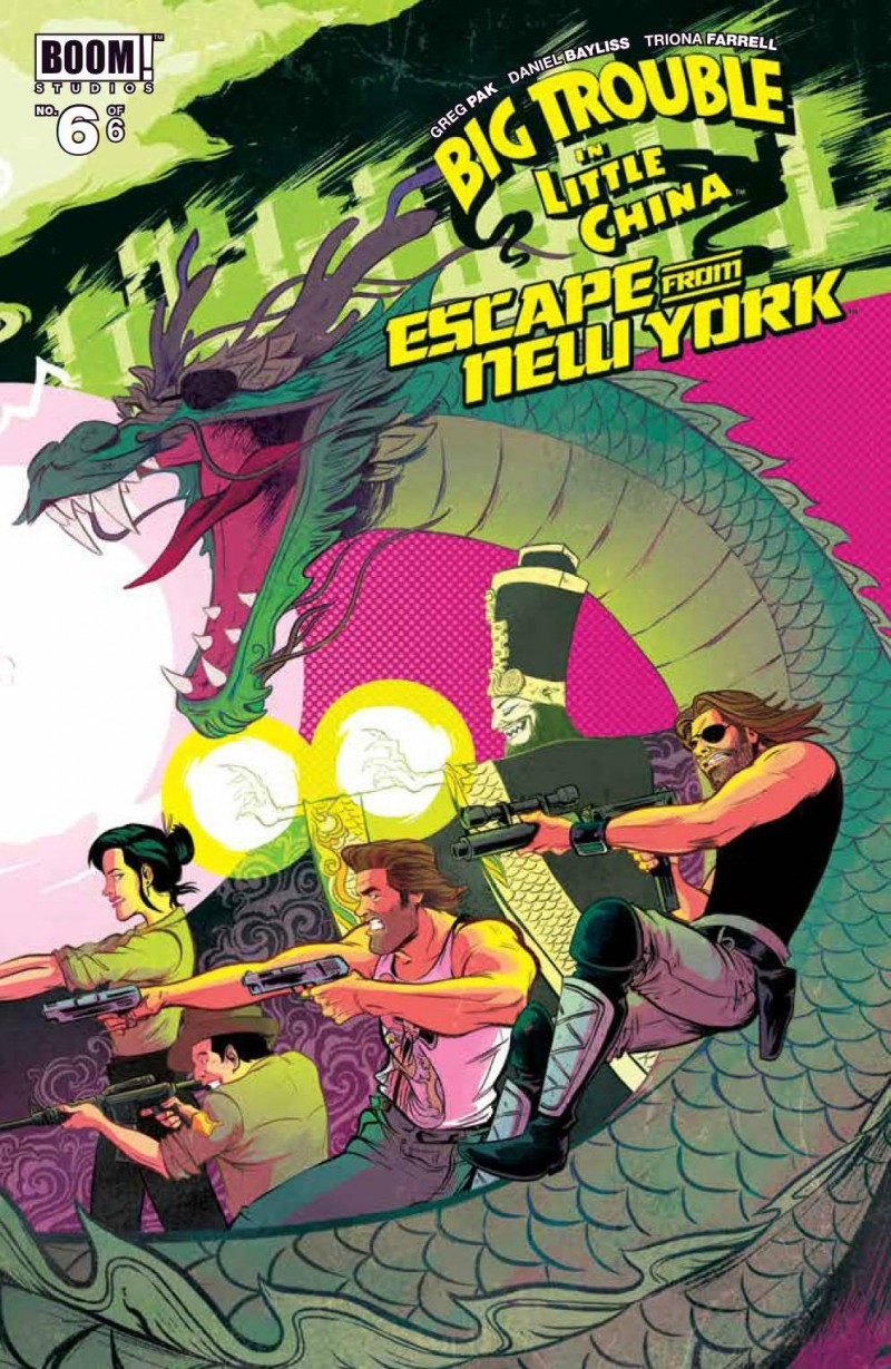 Big Trouble in Little China Escape New York #6