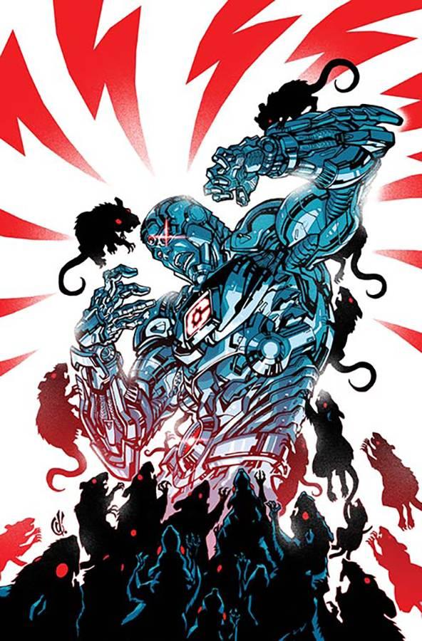 Cyborg V2 #10 CVR B